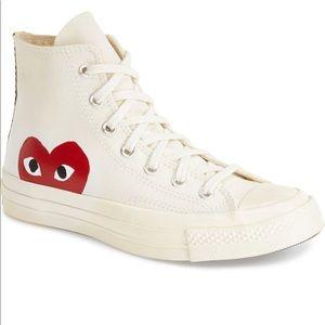Comme des garçons play high top sneakers 9